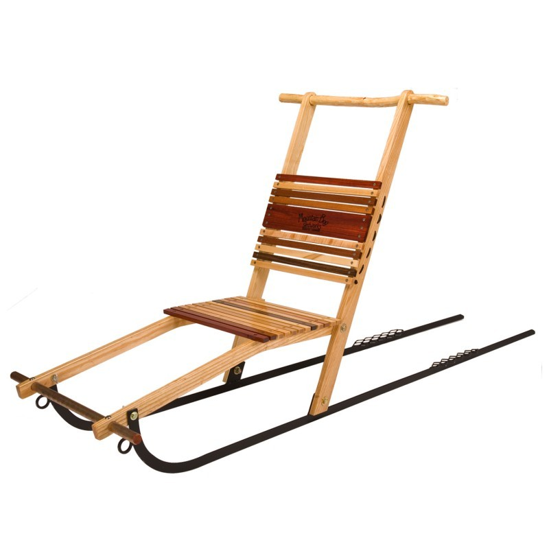 Winter Tubes for Sledding: Silverton Wooden Kicksled