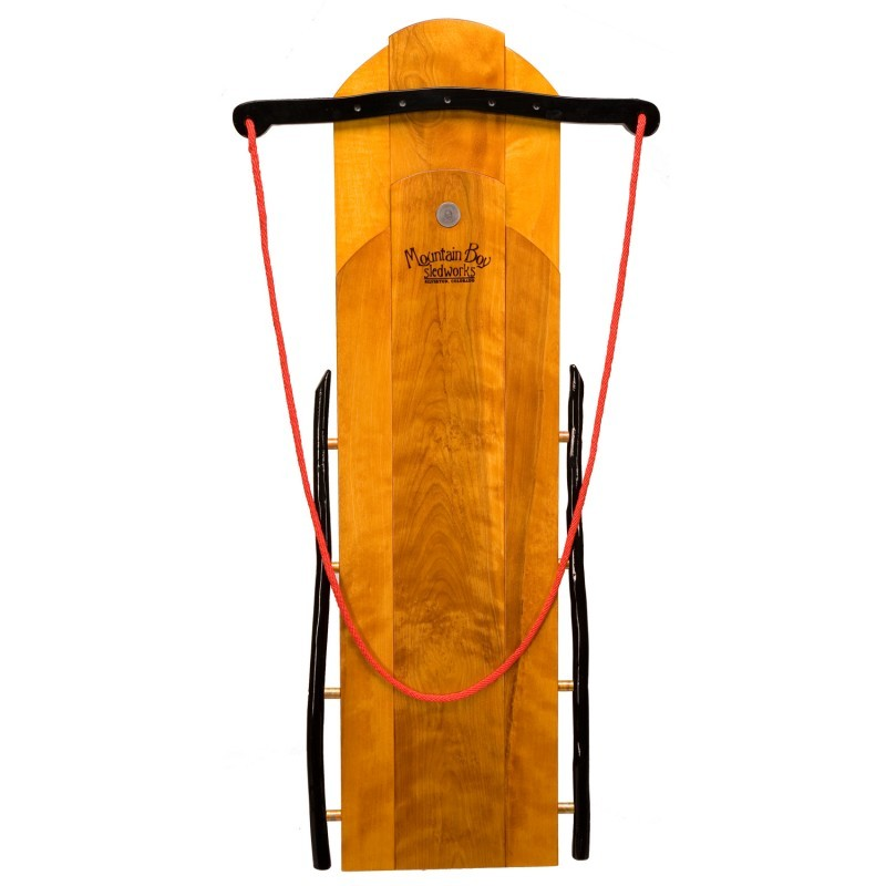 Winter Tubes for Sledding: Elegant Flyer Wooden Sled 48 inch