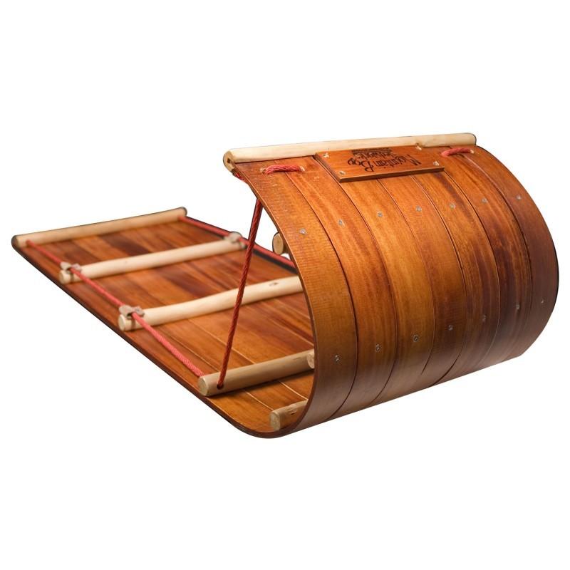 mountain boggan 4 foot toboggan sled mb mb4 0610 11. Black Bedroom Furniture Sets. Home Design Ideas