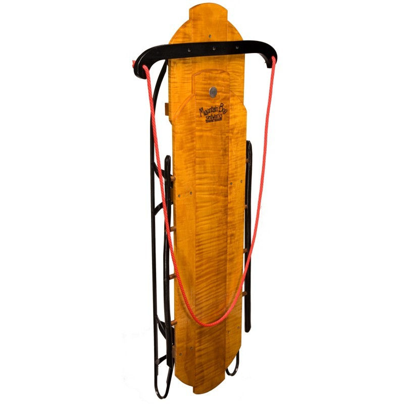 Winter Tubes for Sledding: Royal Flyer Wooden Sled 52 inch
