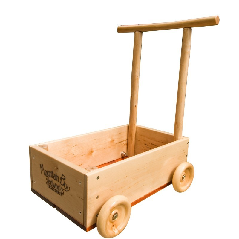 Dragonfly Wooden Toy Push Cart MB-DF-0801-11 | PoolToysMart.com