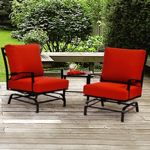 San Michelle Cast Aluminum Club Glider Set 3 Piece