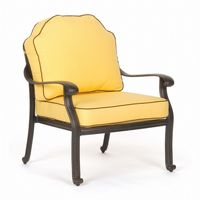 Florence Cast Aluminum Outdoor Club Chair CA-777-21