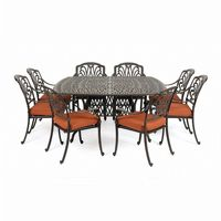 Florence Cast Aluminum Outdoor Dining Set 9 piece CA-777-SET2