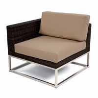 Mirabella Modern Wicker Club Sectional Right Module CA606-R