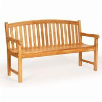 Modern Teak Patio Garden Bench 72 inch CA-50125