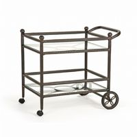 Origin Cast Aluminum Patio Tea Cart CA-8882-X