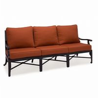 Paris Contemporary Cast Aluminum Club Sofa CA-9027-23