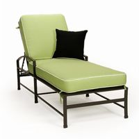 San Michelle Cast Aluminum Chaise Lounge CA-710-9