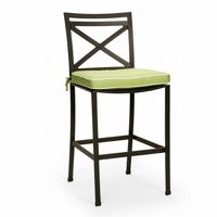 San Michelle Cast Aluminum Dining Bar Chair CA-710-17BH