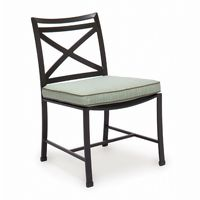 San Michelle Cast Aluminum Dining Side Chair CA-710-1S