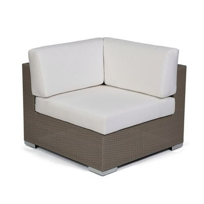 10Tierra Wicker Patio Club Sectional Corner Module CA-829-C
