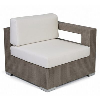 10Tierra Wicker Patio Club Sectional Left Module CA-829-L