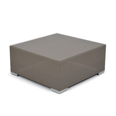 10Tierra Wicker Patio Coffee Table CA-829-F