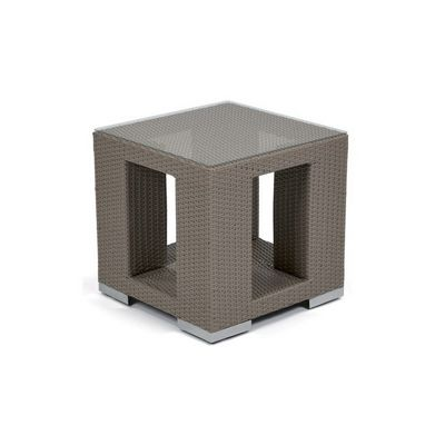10Tierra Wicker Patio Side Table CA-829-E