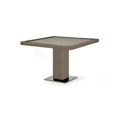 10Tierra Wicker Patio Square Dining Table CA-829-D42