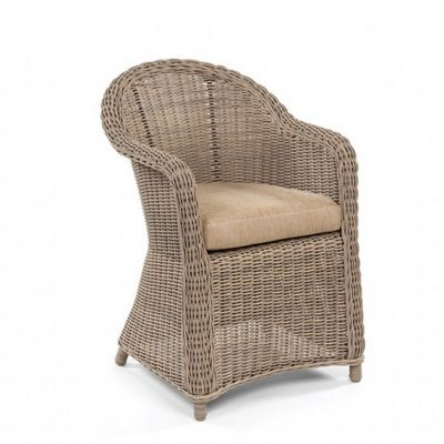 Amelie Traditional Wicker Dining Chair CA-989-1