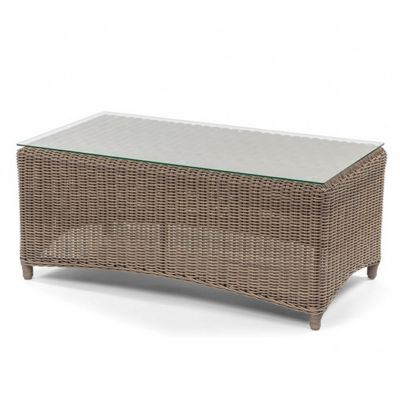 Amelie Traditional Wicker Rectangle Center Table CA-989-F