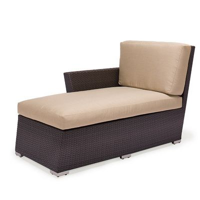 Maxime Wicker Deep Club Chaise Right Module CA607-9R