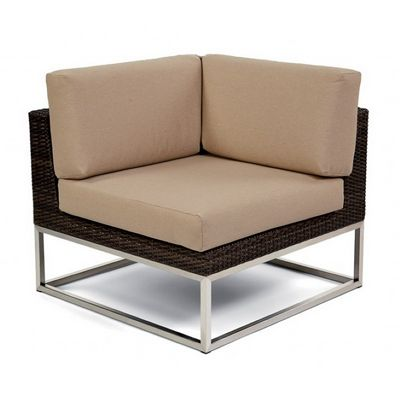 Mirabella Modern Wicker Club Sectional Corner Module CA606-C