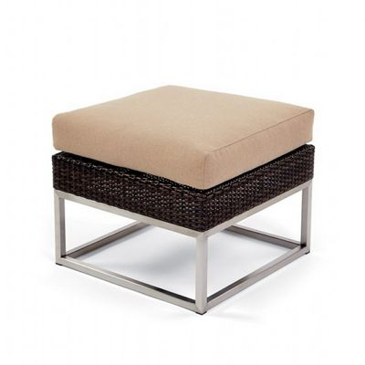 Mirabella Modern Wicker Club Sectional Ottoman CA606-G