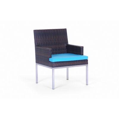 Mirabella Modern Wicker Dining Arm Chair CA606 1A CozyDays