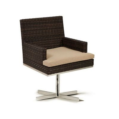 Mirabella Modern Wicker Rocker Dining Chair CA606-11A