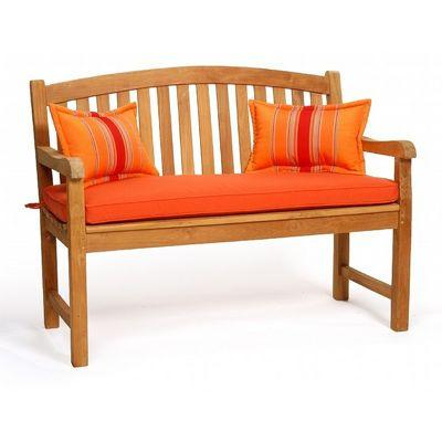 Modern Teak Patio Garden Bench 48 Inch Ca 50123 Cozydays
