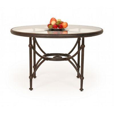 Origin cast aluminum round dining table 48 inch ca 8882a for 36 inch round dining table