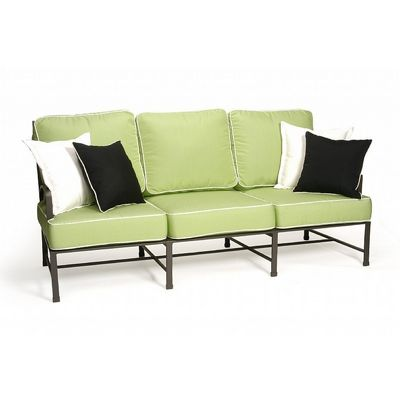 San Michelle Cast Aluminum Club Couch Sofa CA-710-23