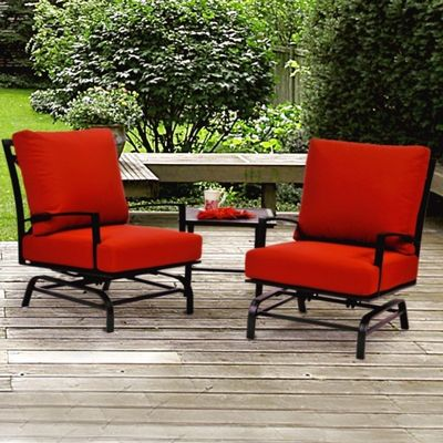 San Michelle Cast Aluminum Club Glider Set 3 Piece CA-8074-5SET