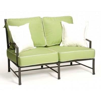 San Michelle Cast Aluminum Club Love Seat CA-710-22