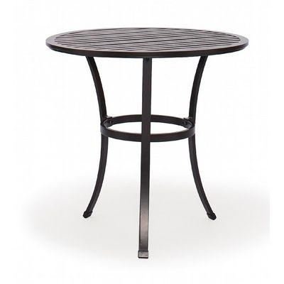 Good San Michelle Cast Aluminum Round Bistro Table 30 Inch