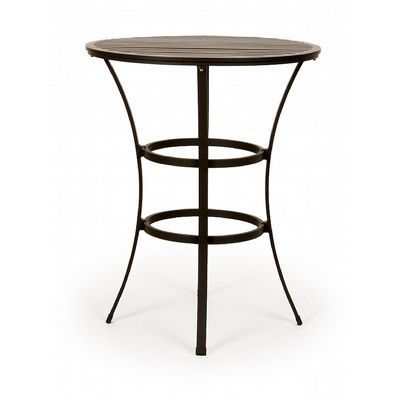 San Michelle Cast Aluminum Round Dining Bar Table 32 inch CA-8174L-32