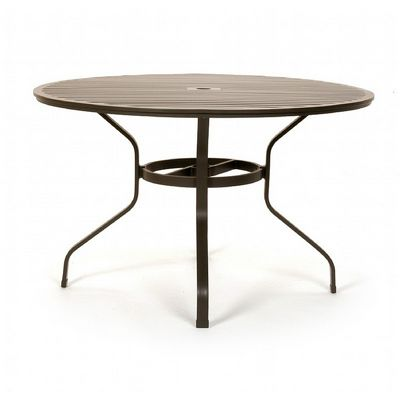 cast aluminum round dining table 48 inch ca 8140a 48 cozydays