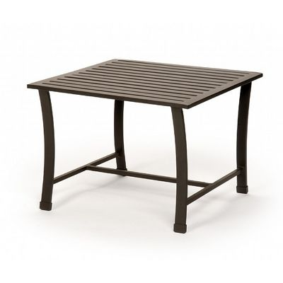 San Michelle Cast Aluminum Square Side Table CA-8140-E
