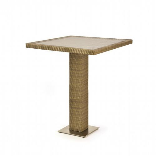 10Tierra Wicker Patio Bar Table CA-829-P32