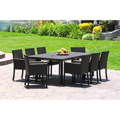 Dijon Modern Patio Dining Set 9 Piece Ca Dj 9ds Cozydays