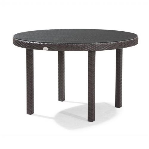 Dijon Round Patio Dining Table 48 Inch Ca Dj 825a 48 Cozydays