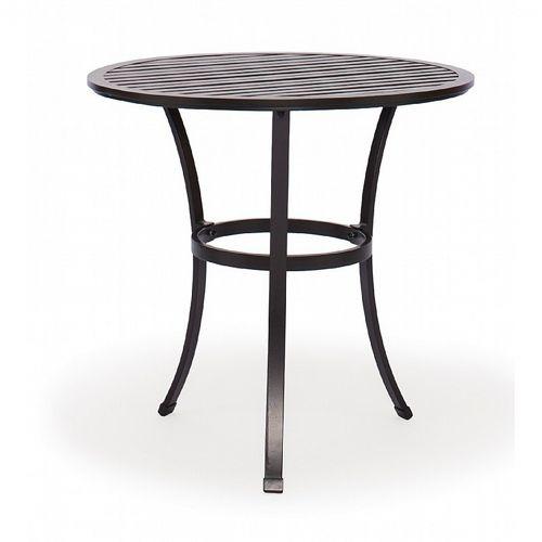 San Michelle Cast Aluminum Round Bistro Table 30 Inch Ca 8074a