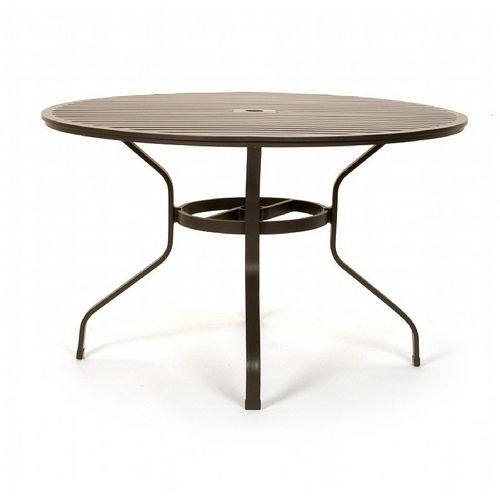 San Michelle Cast Aluminum Round Dining Table 48 inch CA-8140A-48