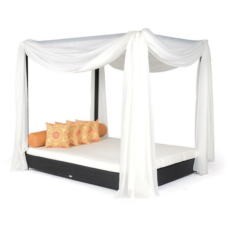 Dijon outdoor double daybed with canopy ca dj 825 b99 Outdoor daybed with canopy