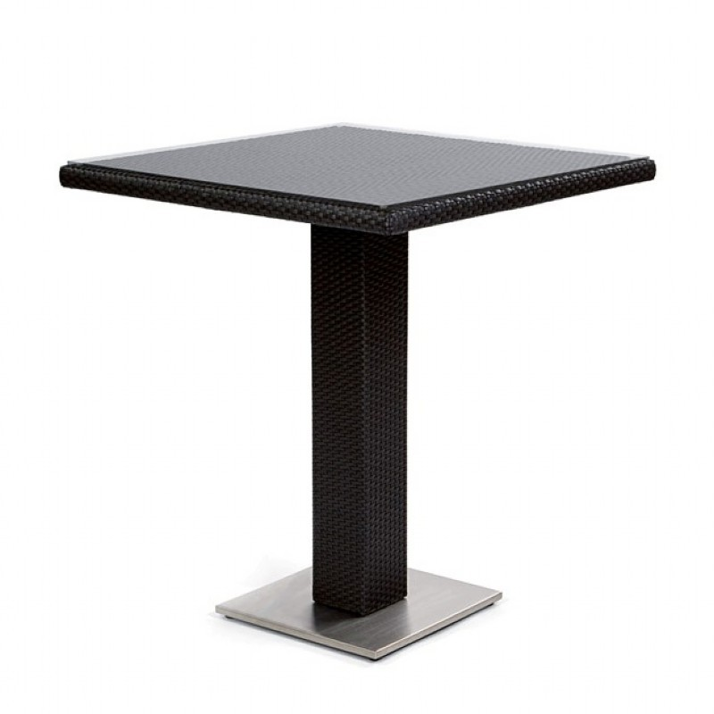 Dijon Square Patio Bar Table 32 inch