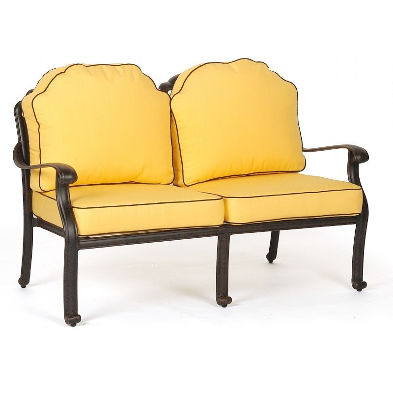 Commercial florence outdoor club love seat ca 777 22 for Furniture 777