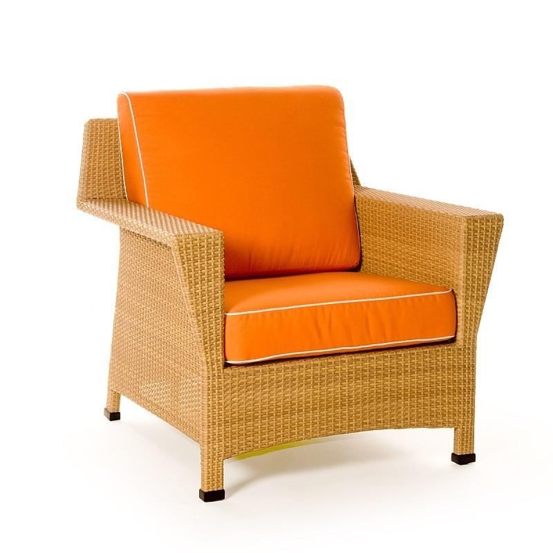 Mayan Resin Wicker Club Chair Ca604 21n