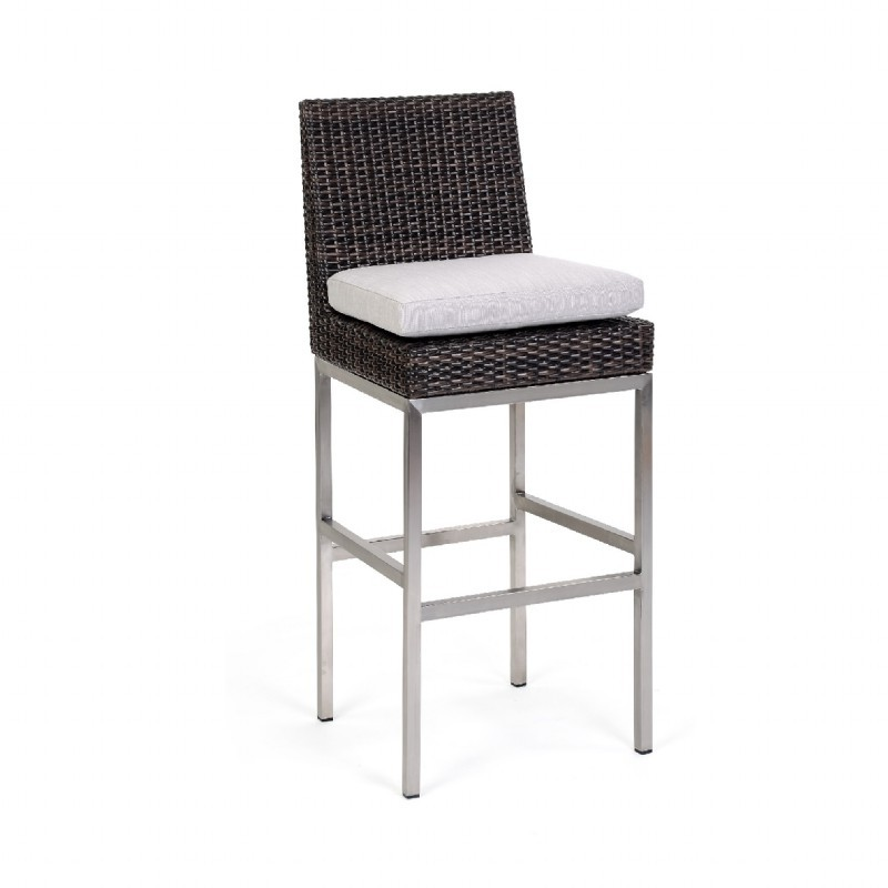 Mirabella Modern Wicker Bar Chair : Patio Chairs