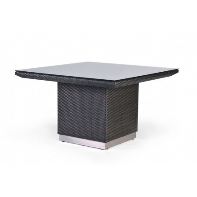 Mirabella Modern Wicker Square Dining Table 48 inches