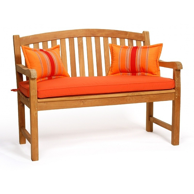 Tall Wicker Chairs: Caluco Teak Outdoor Bench 4 Feet