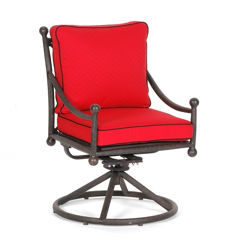 Origin Cast Aluminum Patio Dining Swivel Chair
