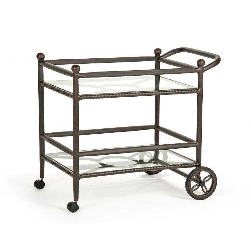 origin cast aluminum patio tea cart ca 8882 x cozydays